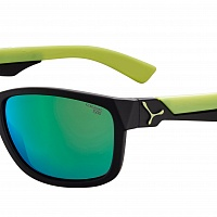 Очки СЕBE AVATAR Matt Blue Lime - 1500 Grey PC Blue Light Green Flash Mirror Cat.3