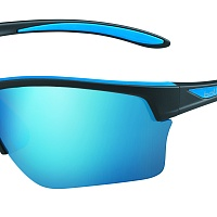 Oчки BOLLE FLASH Matte Black/Blue - Polarized Offshore Blue Cat.3