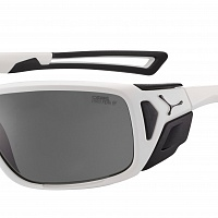 Очки СЕBE PROGUIDE Matt White Black - Variochrom Peak Grey PC AF Silver Flash Mirror Cat.2-4