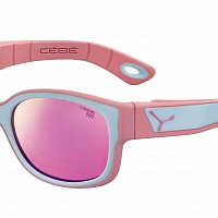 Очки СЕBE S'PIES Matt Pink Blue - 1500 Grey PC Blue Light Light Pink Flash Mirror Cat.3