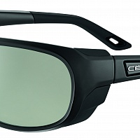 Очки СЕВЕ EVEREST Matt Black - Zone Vario Green Cat.2-4 Silver AF