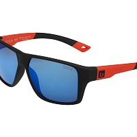 Очки BOLLE BRECKEN FLOATABLE Black Red  - HD Polarized Offshore Blue Cat.3