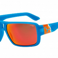 Очки СЕBE L.A.M Matt Blue Orange - 1500 Grey PC Red Flash Mirror Cat.3