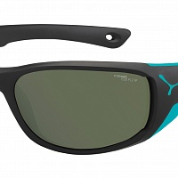 Очки СЕBE JORASSES M Matt Black Turquoise - 1500 Grey PC Polarized AF Silver Flash Mirror Cat.3