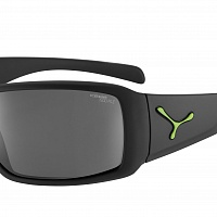 Очки СЕBE UTOPY Matt Black Rubber Finish Green - 1500 Grey PC Polarized Cat.3