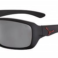 Очки СЕBE HAKA L Matt Black Red - 1500 Grey PC Polarized AR Silver Flash Mirror Cat.3