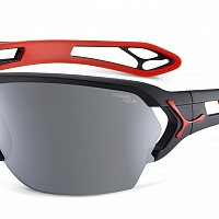 Очки СЕВЕ S'TRACK L Matt Black Red - Zone Polarized Grey Cat.3 Silver AF  + Zone Clear Cat.0 AF