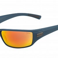 Oчки BOLLE PYTHON Matte Navy - HD Polarized Brown Fire Cat.3