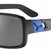Очки СЕBE L.A.M Matt Black Blue - 1500 Grey PC Polarized Cat.3