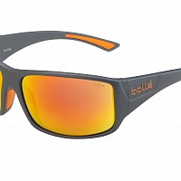 Очки BOLLE TIGERSNAKE Matte Cool Grey - HD Polarized Brown Fire Cat.3